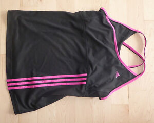 Adidas workout top, size L, excellent condition