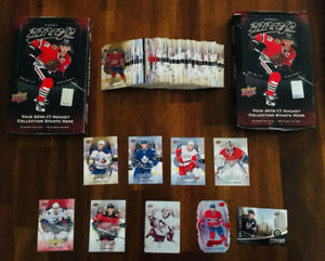 16/17 Upper Deck MVP Carte Hockey Card Lot (McDavid et Rookie)
