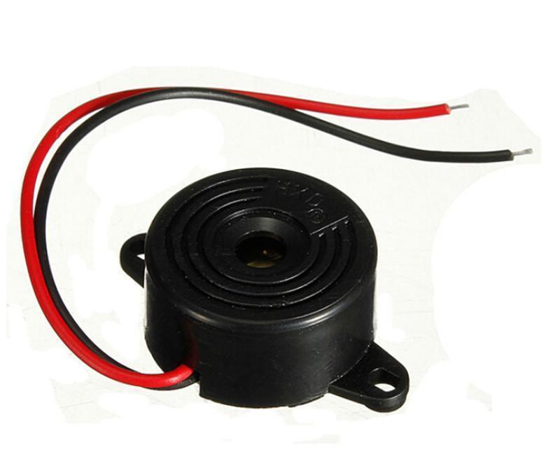 6-15VNew   Piezo Electronic Tone Buzzer Alarm Continuous Sound Mounting HolYJSL