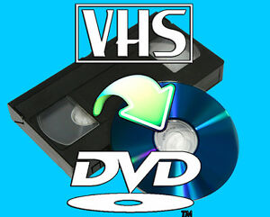 VHS to DVD - Preserve your Memories Digital Transfer Home Movies