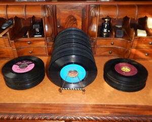 127 45 RPM Records from the 1960's