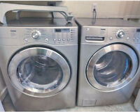 LG Trom Front Load Washer and Dryer