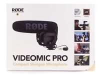 Rode videomic pro with box used once,excellent condition,rode video mic pro,rode