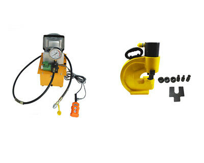 Electric Hydraulic Pump With Hydraulic Hole Punching Tool Copper Hole Puncher