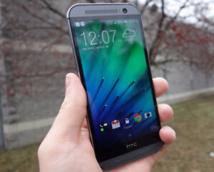 HTC One M8 Gunmetal Grey Mint