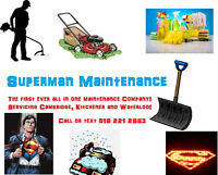 Superman Maintenance!! New Company!!