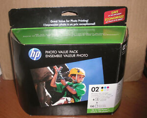 HP Photo Value Pack 02 Series Ink & Photo Paper