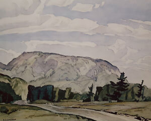 """A.J. Casson """"Summer McGarry Flats"""" Litho - Appraised at $475"""