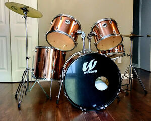 Westbury 5-piece Drum Set--$350.00