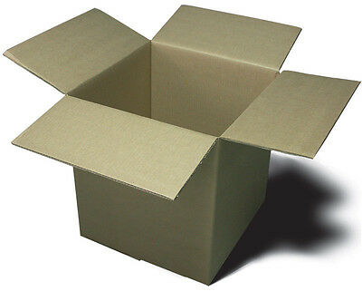 25 - 10 X 10 X 10 Corrugated Boxes