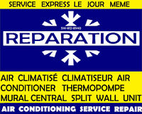 REPARATION AIR CONDITIONER AC CLIMATISÉ CLIMATISEUR THERMOPOMPE