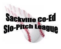 Sackville Co Ed Slo Pitch League Looking to add 2 Teams for 2017