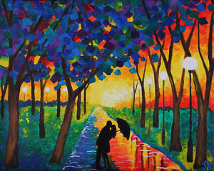 """The Escape"" - New Original Painting Kitchener / Waterloo Kitchener Area image 2"