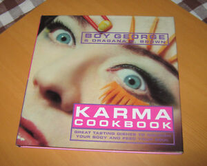 Boy George KARMA COOKBOOK with Dragana G. Brown: Macrobiotics