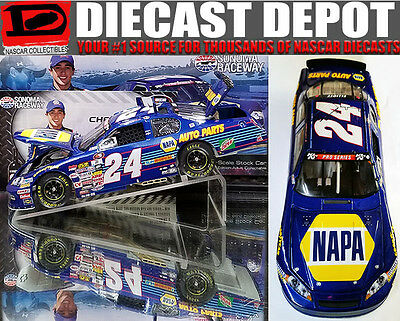 CHASE ELLIOTT 2016 SONOMA WIN RACED VERSION #24 NAPA CHEVY 1/24 ACTION