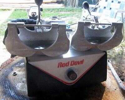 Red Devil Double Paint Shaking Mixing Machine Model 5066 Cast Iron Body