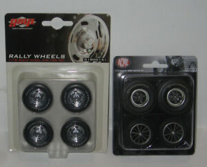 GMP/Acme Replacement Wheels for 1/18th Scale Die-Cast