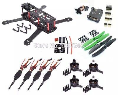 QAV250 Drone Carbon Fiber 250MM FPV Quadcopter Mini RC Quad Shape Set