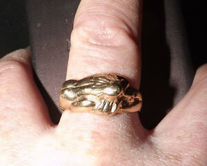 mens size 11, custom made ring