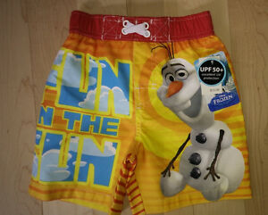 NEW Olaf swim trunks, size 2 Kitchener / Waterloo Kitchener Area image 1