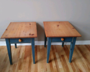 3 piece coffee and matching end tables