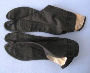 Chaussons japonais Tabi Tongs noirs en spécial à 25$ avec cadeau