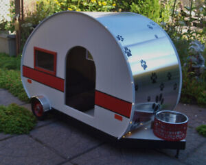 Pet Camping Trailer House for Dogs or Cats