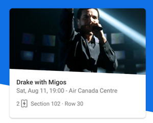 Aubrey and Migos tour