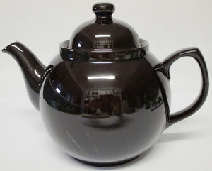 The ADDERLEY CERAMICS Traditional Brown Betty Teapot 8 cups