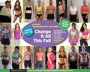 Cleaning & Fat Burning 30 Day Challenge Begins September 22nd!