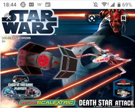 Micro Scalextric Star Wars Death Star Attack set