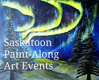 PAINT AND WINE  NIGHT: Mar. 24, 2017