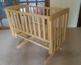 Mamas and papas gliding Crib