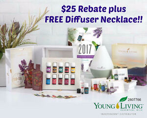 REBATE & GIFT!! Young Living Essential Oils Premium Starter Kit