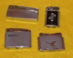 Four Vintage Rare Cigarette  Lighters