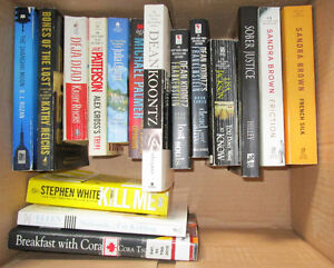 Books Variety .50 each Patterson, Koontz, Jackson, Reichs & More