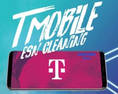 T-Mobile USA CLEANING SERVICE for ALL iPhone & Android BLOCKED/STOLEN/EIP