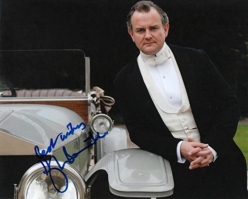 HUGH BONNEVILLE.. Downton Abbey - SIGNED