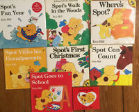 SPOT picture books by Eric Hill $3 each or 8 for $20