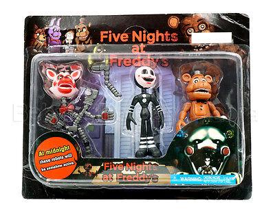 3Pcs Set Five Nights At Freddys Fnaf Game Action Figures Doll Kid Children Toy