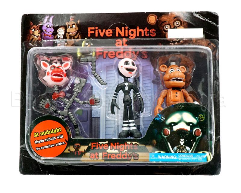 Kids Toys Action Figure: 3Pcs/Set Five Nights At Freddy's FNAF Game Action Figures