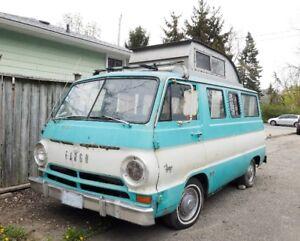 Rare 1966 Dodge Fargo Sportsman Camper Van