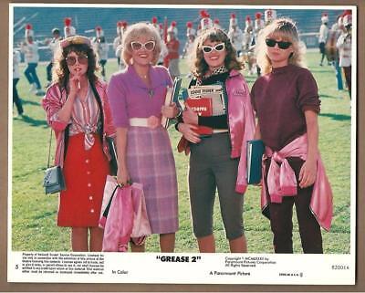 """Michelle Pfeiffer & Girls in """"Grease 2"""" Vintage Movie Still"""