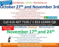QuickBooks Training Desktop / QuickBooks Online @ $399/ @$249