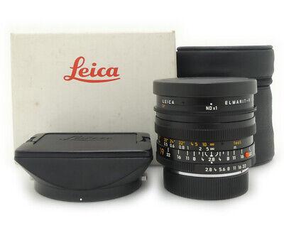 Leica Elmarit-R 19mm F/2.8 Lens ROOM 3Cam Ver.2 made in Germany Mint