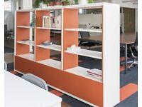 Bisley Room Dividing Storage Shelves