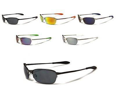 X Loop Sunglasses Sport Baseball Running Golf Driving Metal Half Frame For (Loop Sunglasses)