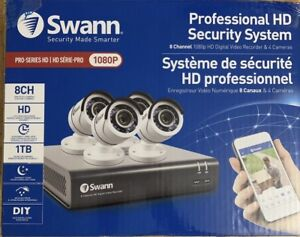 New - Swann Professional HD Security System
