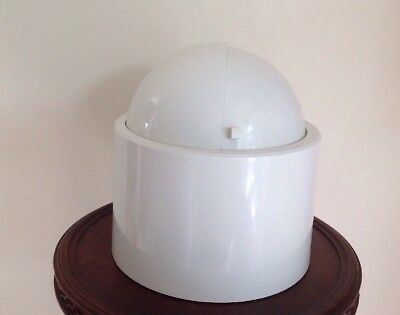 Vintage Mid-Century Modern White COLONY DOME MASTER Revolving Top Ice Bucket