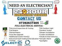 Electrician - Testing, Landlord Certificate, Installation, Maintenance, Repair, Rewire